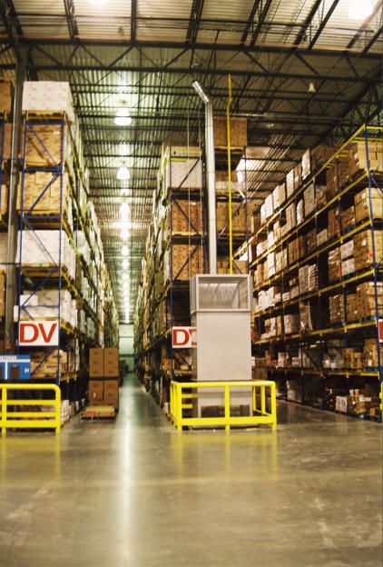 Energy Efficient Warehouse Heating